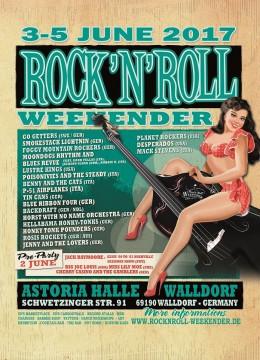 Rock'n'Roll Weekender Walldorf 2017